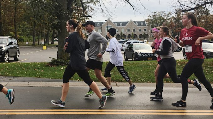 Runners at 4th annual Teddi Trot. Photo provided by Teddi Dance for Love Instagram Page
