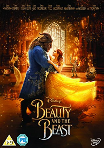 Beauty and The Beast dvd case