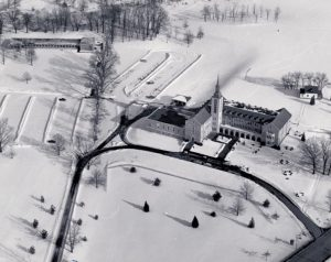 old image of Fisher campus