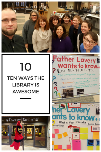 10 ways the library is awesome